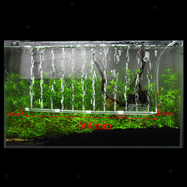 Aquarium Bubble Tube Aerator Fish Tank Air Stone Hydroponic Pump Diffuser