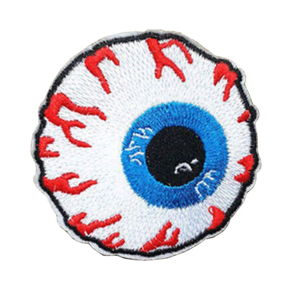 Crafts New 1 Pc Eyeball Embroidered Iron On Applique Motif Patch W1F8