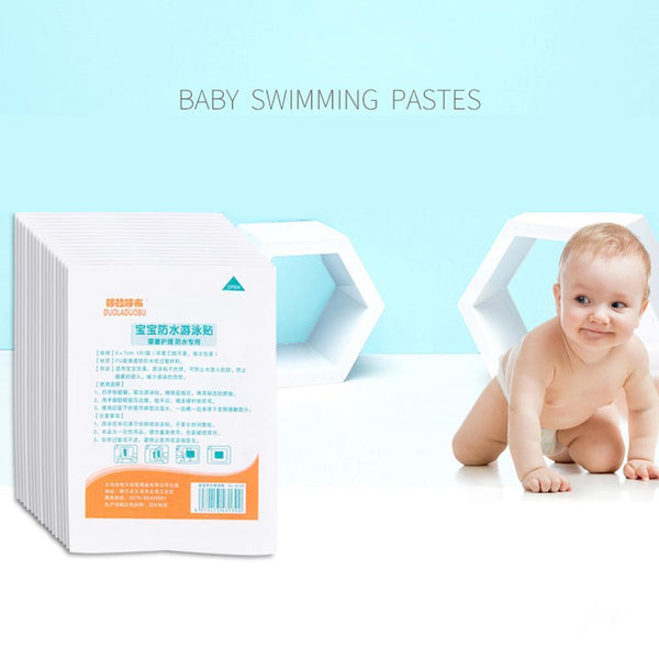 Baby Disposable Swimming Waterproof Breathable Navel Paste Prevent Infecting