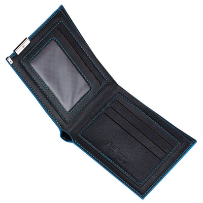 Baellerry Top quality thin wallet men's wallet?Black X5F3 Y5C8