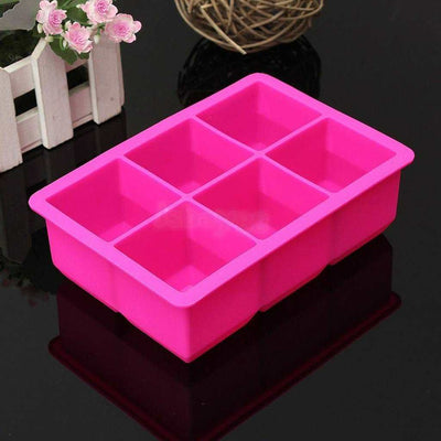 Ice Cube Square Maker Cube Mould Brick Party Tray Square Bar Whiskey Mold #7