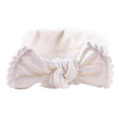 6pcs Chic Hair Accessories Girls Headwrap Sweet Bow Headbands Gift for Baby