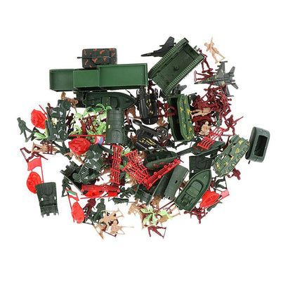 146pcs Action Figures Soldiers Playset Vehicles Kids Christmas Holiday Gifts