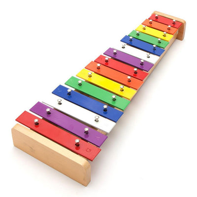 15 Notes Children Xylophone Glockenspiel Multi Color C Key Piano Toys