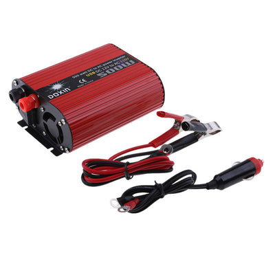500W Car Power Inverter 12V to 110V Modified Sine Wave Converters Dual USB
