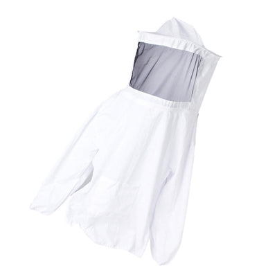 Beekeeping Jacket Veil Suit Dress Pull Over Smock Protective Clothes