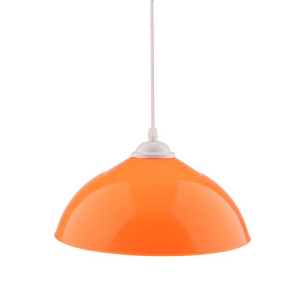 Ceiling Light Shade Cover Pendant Lampshade Pendant Lights Fixture Orange
