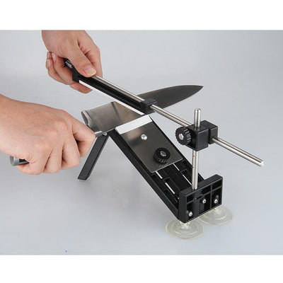 Professional Sharpener Kitchen Sharpening System Fix-angle With 4 Stones