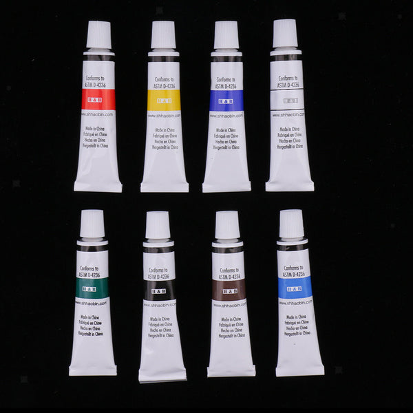 16x Artist Art Set Acrylic Painting Set Brush Pigment for Painting Supplies