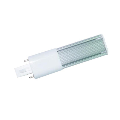 2 pin G23 Bulb CFL Compact Fluorescent Lamp Equivalent 5W White AC 85-265V