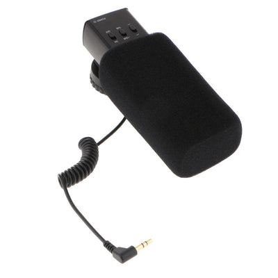 MIC-03 3.5mm Mic DV Stereo Microphone for Canon Nikon Camera Video Camcorder