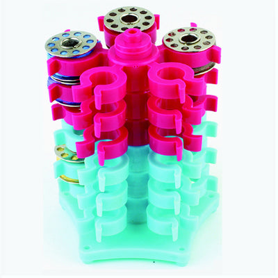 Stack'N Bobbin Tower Bobbin Holders Clips for embroidery quilt sewing thread