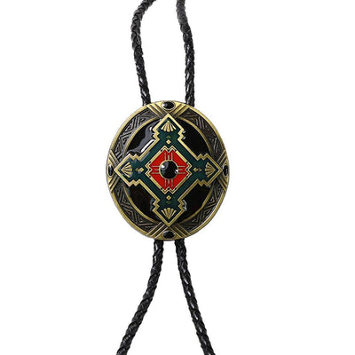 Western Bolo Tie Bolas Necktie Fashionable Men's Jewelry Punk Style Jewelry