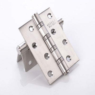 2 Pieces 2.5MM Classic Furniture Hardware Hinge Fixed For Cabinet Door Trunk