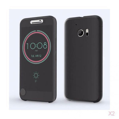 2x Ice View IceView Flip Smart Case Cover For HTC 10 M10