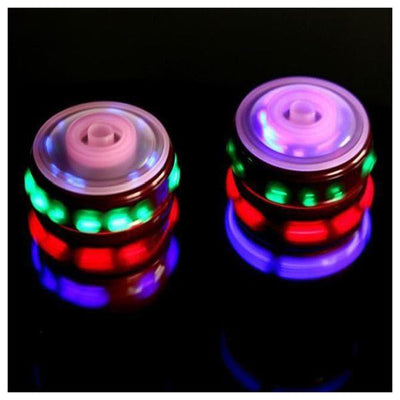 Glowing gyro Music gyro Colorful Spinning gyro LED Lamp Light gyro Color Mu O3V7