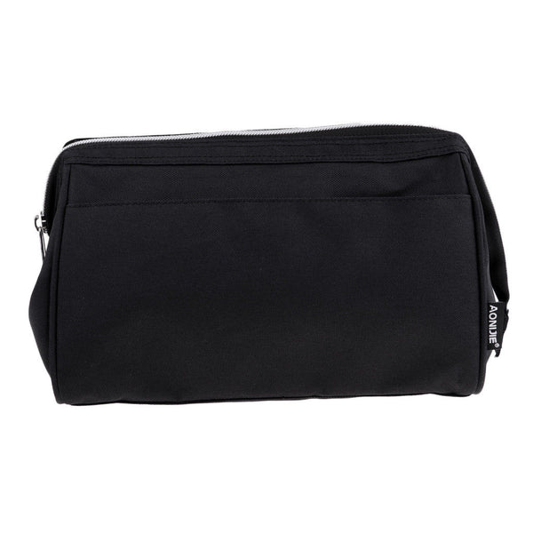 Travel Cosmetic Bag Makeup Case Pouch Wash Organizer Bag Camping Beach Black
