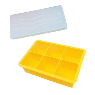 Silicone Ice Cube Tray Maker Mould Chocolate Novelty New Ice Cube Mold #3