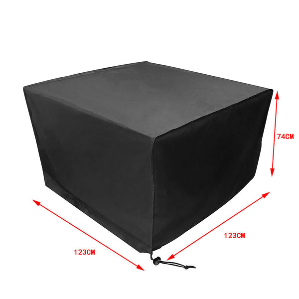 Heavy Duty Waterproof Rattan Cube Cover Garden Furniture Rain Protection S