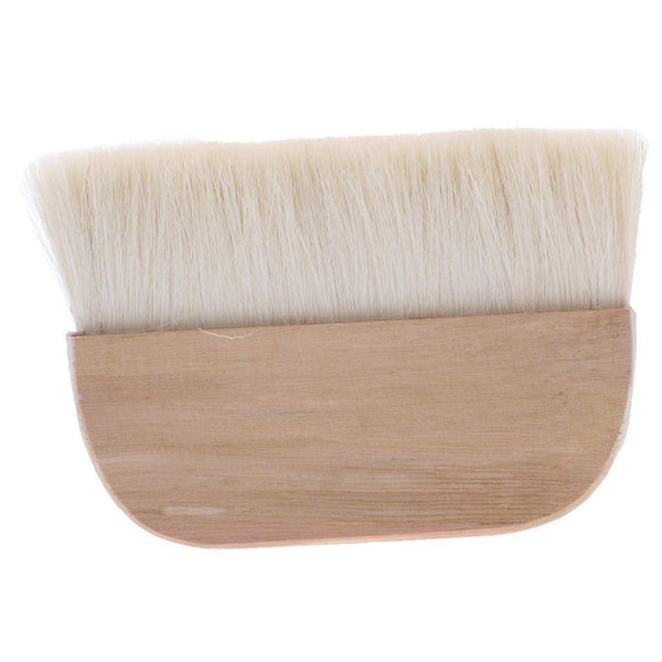 "1 x Wide Wooden Handle Wall Brush Oil Painting Drawing Brush 6"" x 2"""