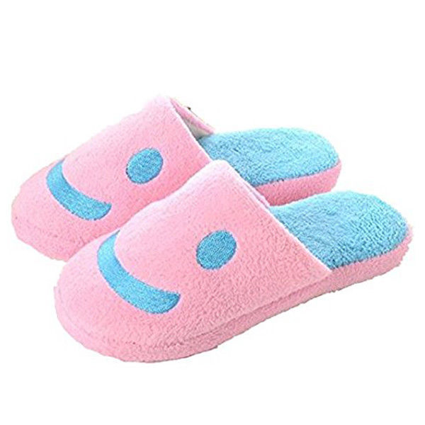 Keeping Warm Cotton Slippers for Woman,Pink,US Size 40-41 yards Applicable N0G0