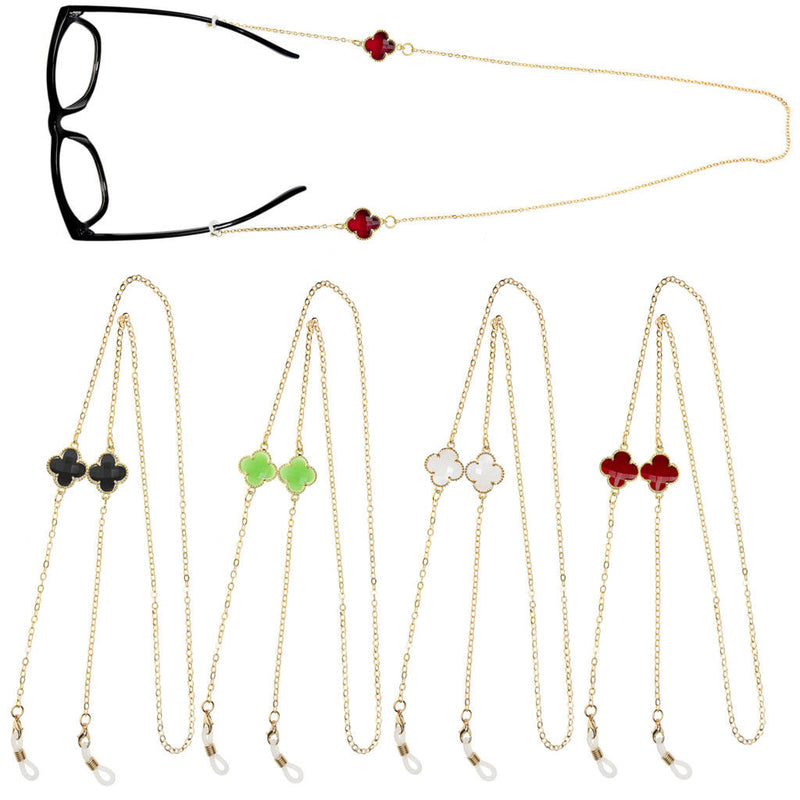 5pcs Eyeglass Cord Reading Glasses Eyewear Spectacles Necklace Chain Holder