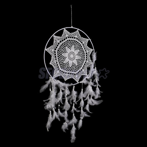 Large Lace Net Dreamcatcher Home Decor Hanging Christmas Ornament Kid Gift