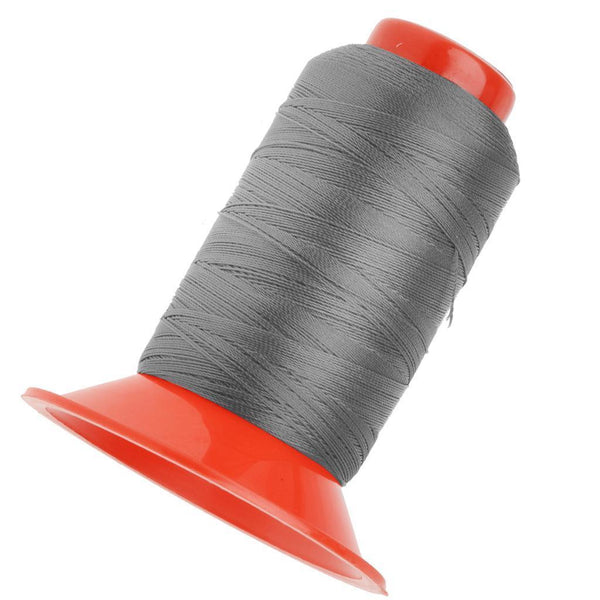 3x Strong Nylon Tent Backpack Sewing Thread Cord 500 Meters Blue/Orange/Grey