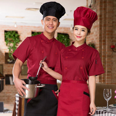 Work Wear & Uniforms The Cheapest Price 2019 Long Sleeve Wholesale Unisex Kitchen Chef Restaurant Uniform Shirt Breathable Double Breasted Dress Chef Jacket Chef Works Bracing Up The Whole System And Strengthening It Chef Jackets