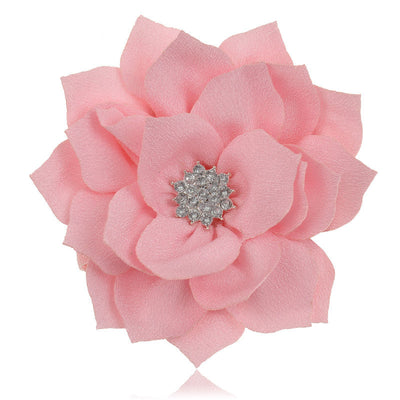 Lotus Flower Kids Baby Girls Infant Toddlers  Headband Hair Bow Band Accessory