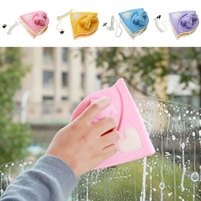 Glass Scraper Cleaner Safe Magnetic Window Surface Wiper Purple Bow 3-8MM