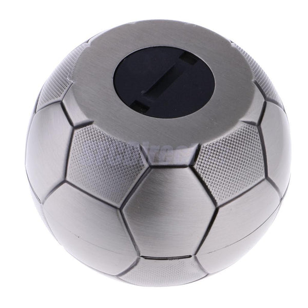 Cool Football Metal Coins Piggy Bank Money Bank Money Saving Box Kids Gift