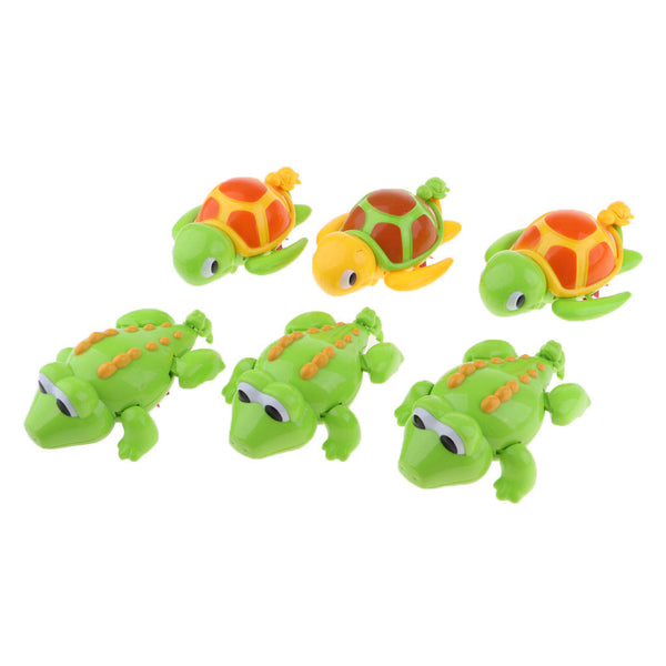 Wind-up Crocodile Turtle Animal Children Bath Swimming Water Clockwork Toys