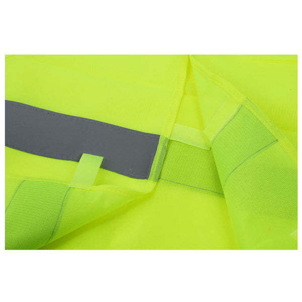 Safety vest Reflecting Strips Yellow Fluorescent High Visibility B6O7