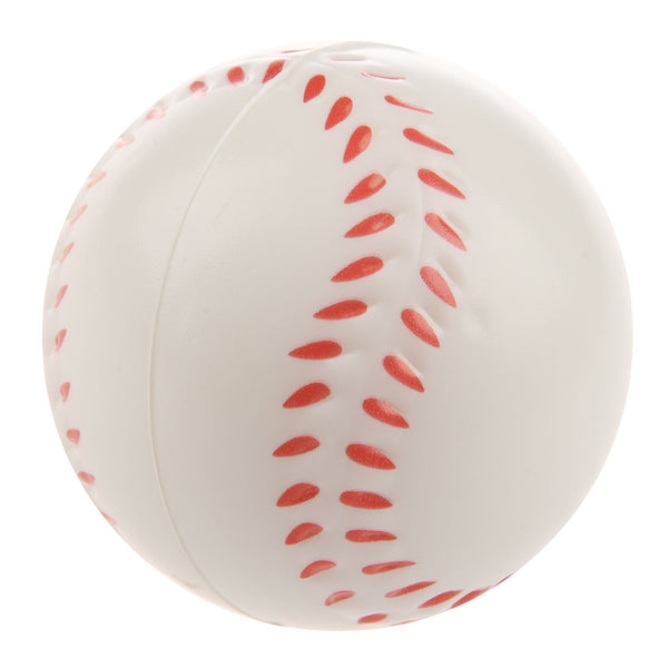 White Baseball Stress Ball CT G7U1