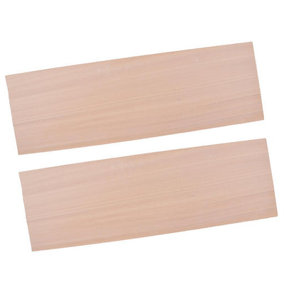 2x 1mm Balsa Wood Board for DIY Woodworking Art Craft Aircraft Tank Cars
