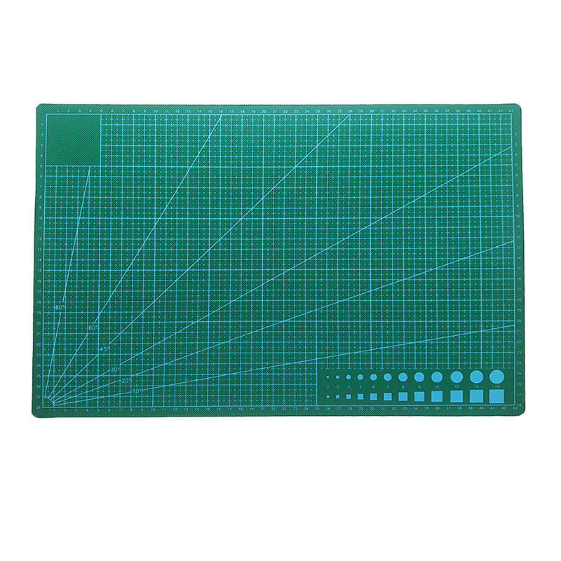 Double Sided Eco Friendly Cutting Mat Mouse Pad 45x30CM White Core