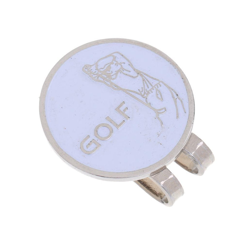 10Pcs Golfing Alloy Golf Hat Clip Magnetic with Ball Marker Golfer Gift