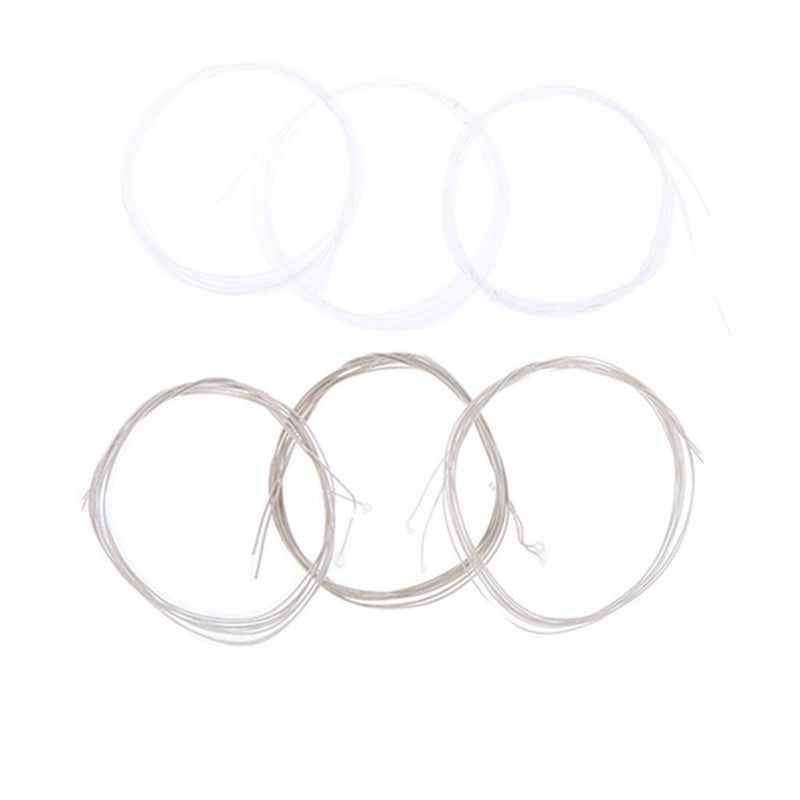 12pcs/Set Clear Nylon Strings 0th-5th for Oud Replacement Accessory