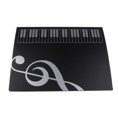 Big Storage Musical Favorites Music Score Folder for Piano Lovers Black