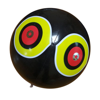 Bird Repellent Eyes Balloon Bird Scarer Pest Bird Resistance Control Black