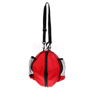 Waterproof Basketball Football Volleyball Handbag with Shoulder Strap Red