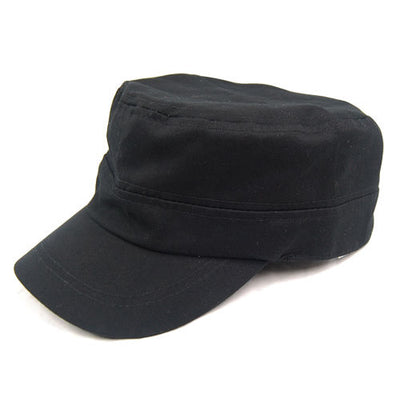 Coool Unisex Black Army Hat Baseball Cap Military Cotton Urban Hat Mens Lad V7F7