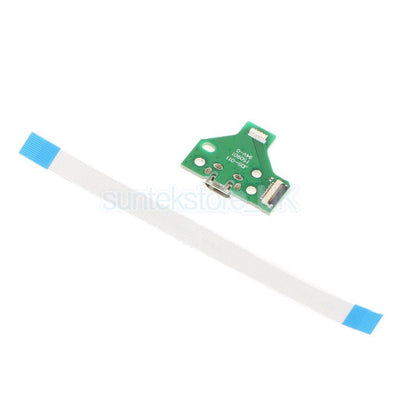 USB Charging Port Board with 12 pin Cable JDS-011 for SONY PS4 Controller