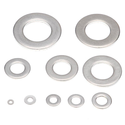 Flat Washer Gasket Round Washer Assortment Kit 100pcs 304Stainless Steel M16