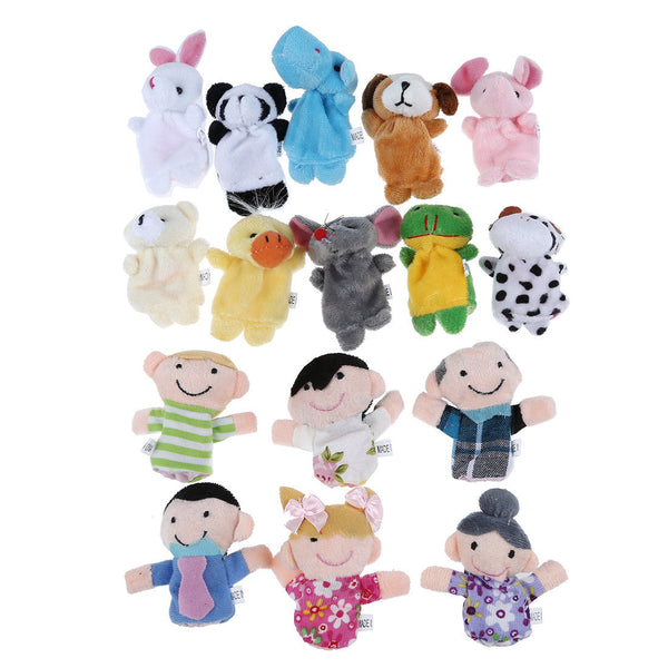 Family Finger Puppets B3G1