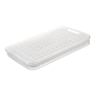 Kitchen Food Storage box Sealed Storage with Ice Lattice and lid Transparent