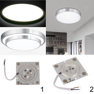 2Pcs Super Bright LED Ceiling Pendant Light Replacement Panel Lighting Round