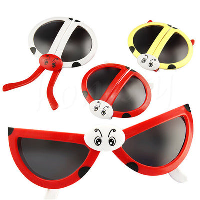 1Pcs Cute Foldable Beetle Ladybug Baby Children Kids Sunglasses Goggles Eyewear