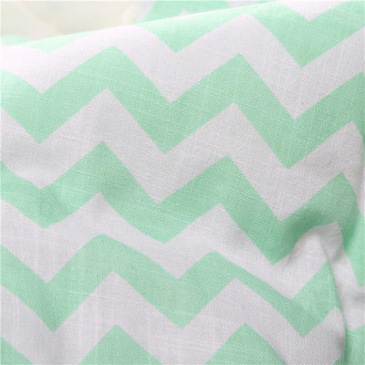 Baby Swaddle Wrap Newborn Bedding Cotton Green Sleeping Bag Cotton Wrap